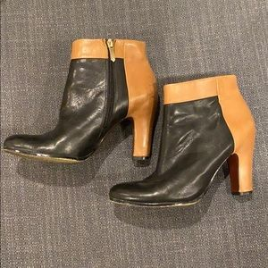 Sam Edelman Shoes | Two Tone Booties